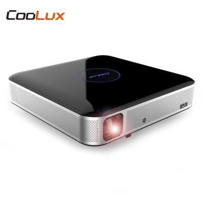 COOLUX S3 Pro DLP Projector Home Theater 1100 ANSI 1280 x 800P Support 4K 2.4 / 5GHz WiFi Bluetooth 4.0