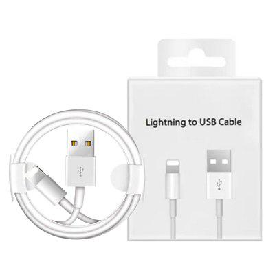 1m 2m USB Data Charging Cable for iPhone 7 8 6 6S Plus X XR XS 11 Pro Max 5 5S Phone Charger Cables