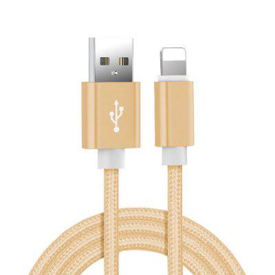 1m 1.5m 2m 3m Nylon Braided USB Data Charging Cable for iPhone 5 5S 6 6S 7 8 Plus X XR XS 11 Pro Max