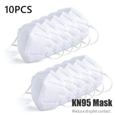 KN95 Dustproof Anti Fog Breathable Face Mask Filtration Mouth Masks 3 Layer Muffle Cover