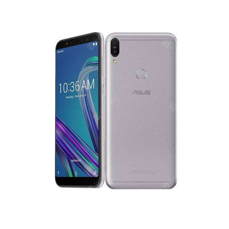 Asus ZenFone Max Pro M1 ZB602KL 6 inch 4G LTE SmartphoneSnapdragon 636 Touch Android CellPhone - Silver CHINA 4GB 64GB