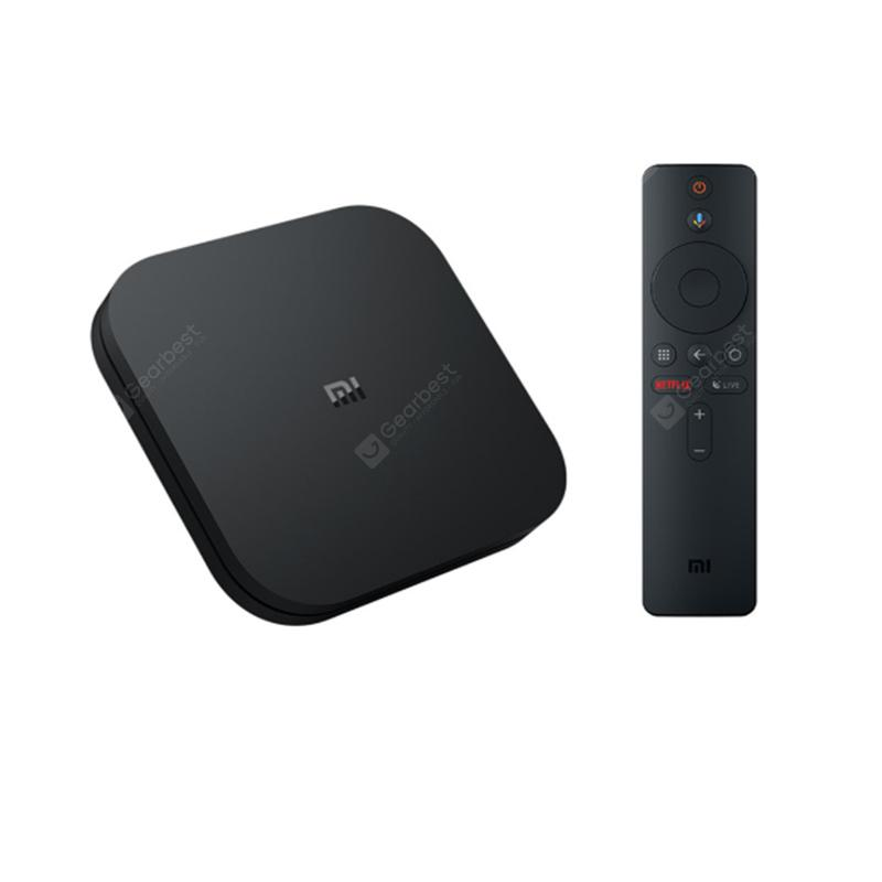 Mi TV Box S IPTV Set top Box Media Player European Version - Black International Edition CHINA