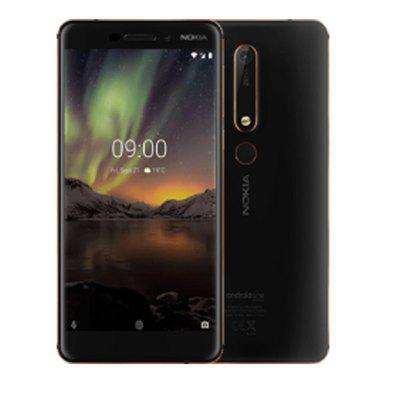 Nokia 6.1 Global Version 5.5 inch FHD NFC Android 9.0 Snapdragon 630 Octa Core 4G SmartPhone