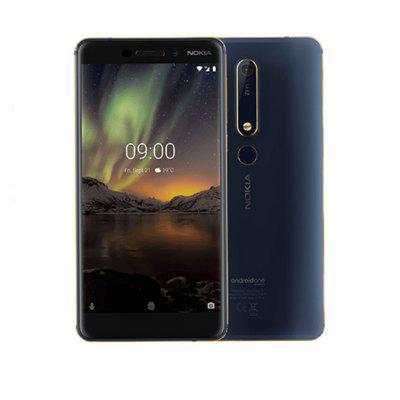 Nokia 6.1 Global Version 5.5 inch FHD NFC Android 9.0 Snapdragon 630 Octa Core 4G SmartPhone Image