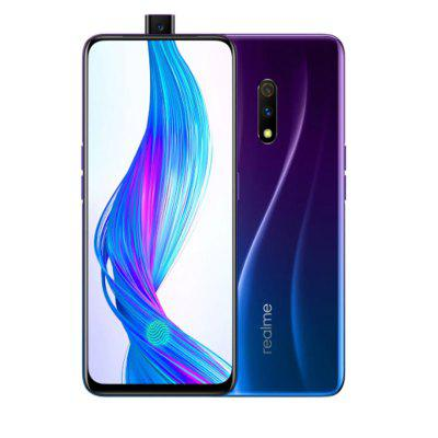 CN Version OPPO REALME X Snapdragon Mobile Phone 48MP Dual Camera Android 9 Image