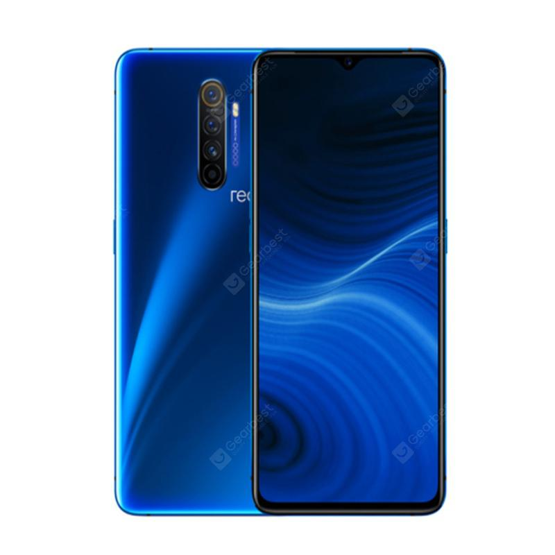 OPPO Realme X2 Pro 4G Global Edition Smartphone 6.5 inch FHD Android 9.0 Snapdragon 855 Plus  Blue 8GB 128GB