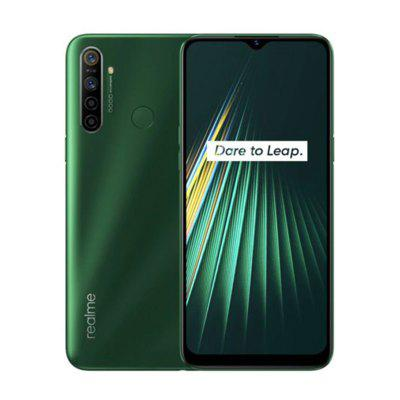 Global Version OPPO Realme 5i 6.5inch Smartphone 1600x720 5000mAh 4G Mobile Phone Image