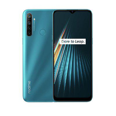 Global Version OPPO Realme 5i 6.5inch Smartphone 1600x720 5000mAh 4G Mobile Phone