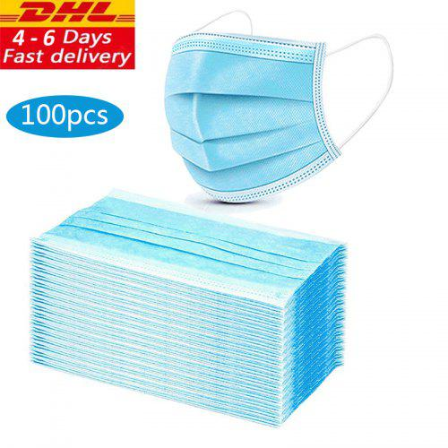 3 Layer Medical Disposable Facial Masks Anti-Dust Anti BacteriaWith with 3C certification