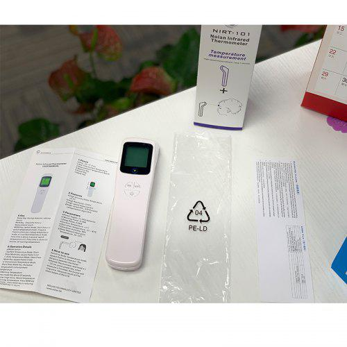 Top Hight Non-contact Infrared Thermometer Digital LCD Body Forehead Ear Thermometer - No battery
