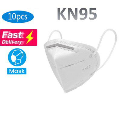 KN95 Mask With Melt-blown Filter Layer Anti Pollen Allergy Filtranion Rffciency 95 Percent