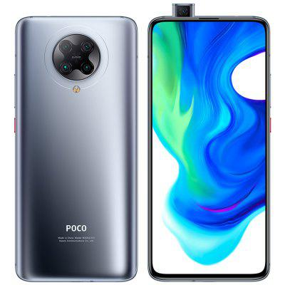 POCO F2 Pro 5G اسمارٽ فون 6.67 انچ AMOLED مڪمل اسڪرين واري موبائل فون سان 20 ايم پي پاپ اپ فرنٽ ڪيمرا