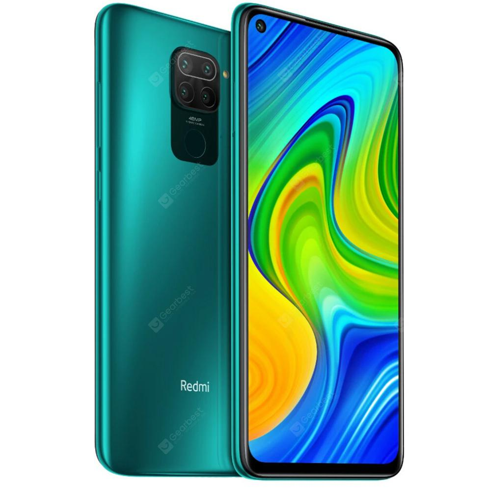 Xiaomi Redmi Note 9 Global Version 6.53 Inch 48MP Quad Camera 5020mAh Helio G85 Octa Core 4G Smartphone