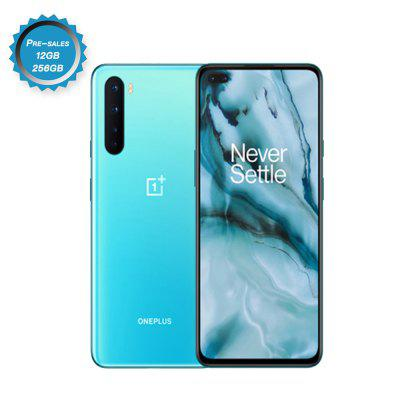 Global Version Oneplus Nord 5G Snapdragon 765G 48MP Quad Camera 90hz Screen AMOLED 32MP Dual Front Camera Smartphone Image