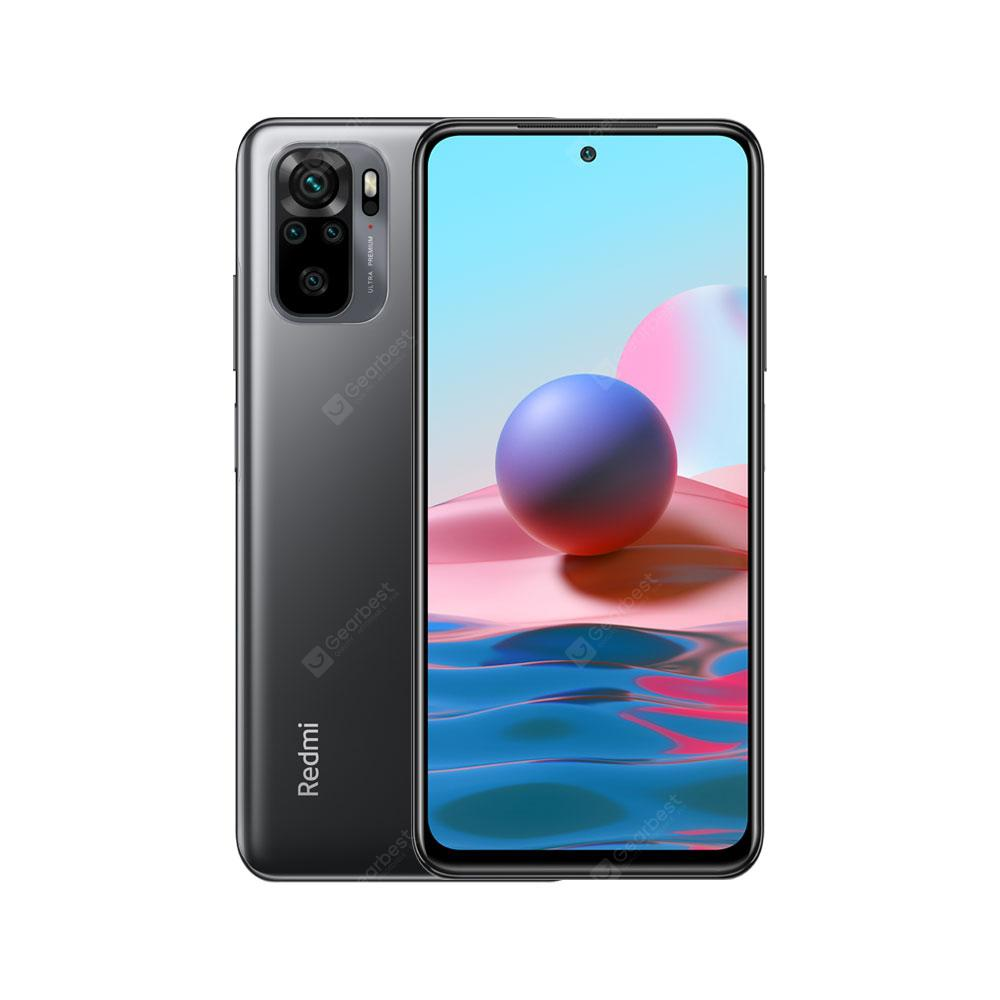 Xiaomi Redmi Note 10 Global Version Smartphongon 678 AMOLED Display 48MP Quad Camera 33W Mobile Phonee 6.43 inches Snapdra