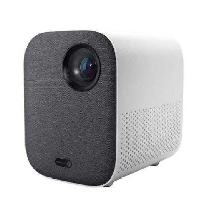 Global Version Xiaomi Mi Compact Projector 1080P Full HD Dolby Audio Auto-Focusing Android TV 9.0 Average 500 ANSI lumens Smart Home Cinema