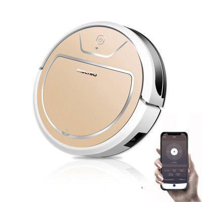 MOLISU V8S PRO ROBOT VACUUM CLEANER 2in1 for pet hair home with Dry and Wet mopping WIFI APP Control Image