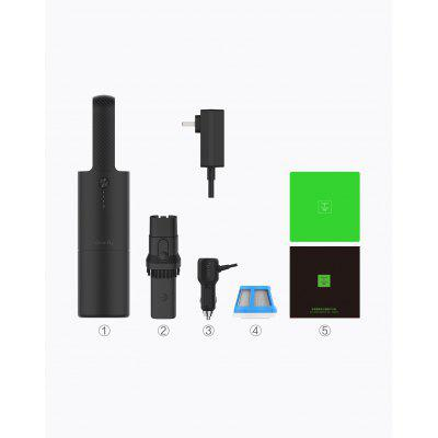 Original XIAOMI Cleanfly FVQ Portable Car Handheld Vacuum Cleaner for home Wireless Strong Cyclone Image