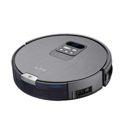 ILIFE X750 Robot vVacuum Cleaner For Hard Floor Pet Hair Mopping And Wetting Automatic Recharge