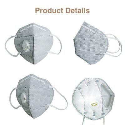 KN95 Face Mask for Adult Kids PM25 Respirator Anti Haze Dust Virus Mouth Masks with Breathing Valve