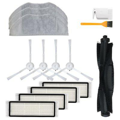 Roller Brush Washable Robot HEPA Mops for 360 S5 S7 Vacuum Cleaner Parts Replacement Filter