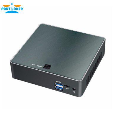 Partaker 8th Gen Intel Core i5 8250U 8350U Quad Core 8 Threads Nuc Mini PC UHD Graphics 620 DDR4