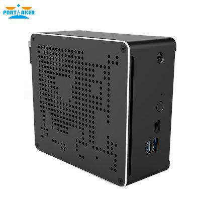 10th Gen Nuc i7 10750H Mini PC 2 Lan Windows 10 2 DDR4 2 NVME AC WiFi Gaming Desktop Computer Image