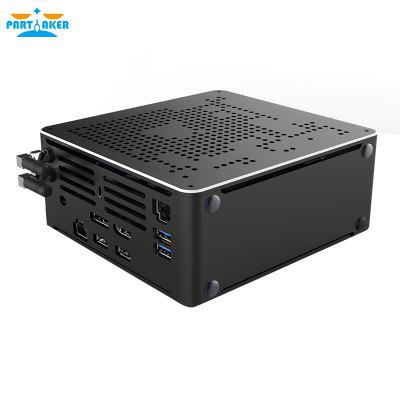 10th Gen Nuc i7 10750H i9 9880H Xeon 2286M Mini PC 2 Lan Windows 10 2 DDR4 2 NVME AC WiFi Gaming Desktop Computer 4K DP HDMI2.0 Image