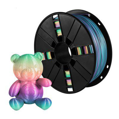XVICO PLA Filament Rainbow color 3D Printer PLA Spool PLA Filament  1.75mm for Ender 3 CR10 Creality