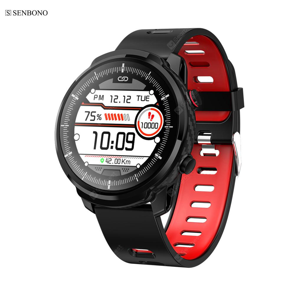 SENBONO S10 plus Full touch Smart Watch Sports Clock Heart Rate Monitor Smartwatch Tracker