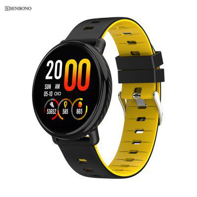 SENBONO K1 IP68 waterproof Smart watch Fitness tracker Heart rate monitor Sports smartwatch