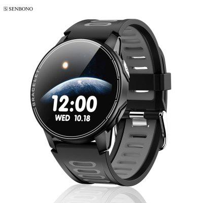 SENBONO S20 IP68 Waterproof Smart Watch Fitness Tracker Heart Rate Monitor For Android IOS
