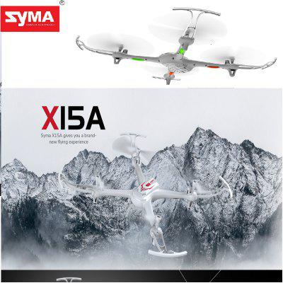 SYMA X15A 4 Channels Bring 6 axis gyro Drone Quadcopter  - Black and White