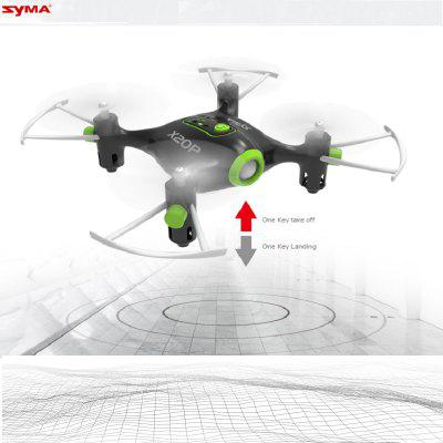 SYMA  X20P-Mini  360 Degrees and 3D fly Drone Quadcopter  - Black