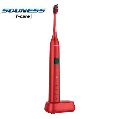 SOUNESS Sonic 3D Touch Electric Toothbrush EU Version SNK01  4 Brush Heads 9 Positions 3 Modes