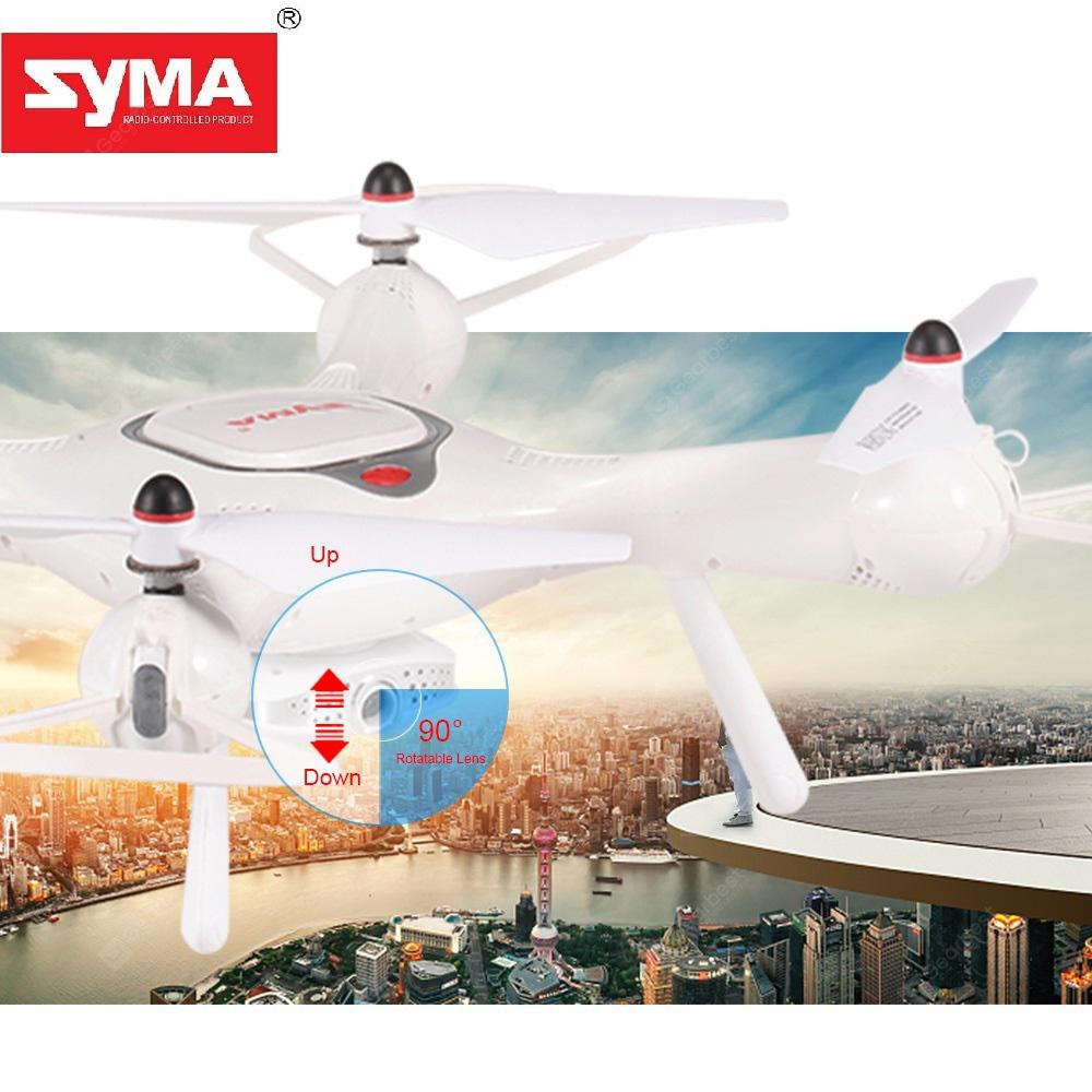 SYMA X25PRO GPS Fixed Aerial Senior Shaft Aircraft Drone Quadcopter - White China