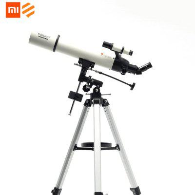 Xiaomi Outdoor Astronomical Telescope Main Mirror Caliber Aluminum 90mm High Magnification HD