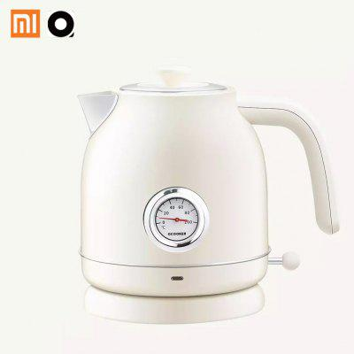 Xiaomi kitchen Retro Electric Kettle stainless steel 1.7L with Thermometer Anti-dry burning