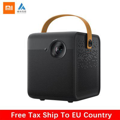 Xiaomi Smart Home Theater Side Projector TV Full HD 1080P 550ANSI Lumens Support 4K 3D DOLBY DTS
