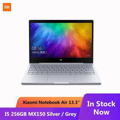 Xiaomi Mi Notebook Air13.3 inch Mi Laptop Fingerprint Recognition i5-8250U Intel Core 8GB DDR4 256GB Image