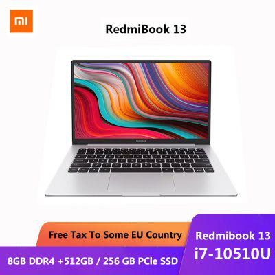 Original Xiaomi RedmiBook13 Laptop 13.3 inch Intel Core i7-10510U NVIDIA GeForce MX250 GPU Image