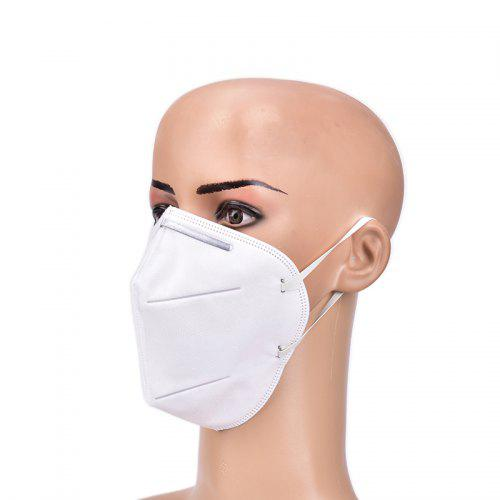 Disposable Mask Face KN95 N95 4-Layer Filtration Antibacterial Non-woven Fabric Particles Protective