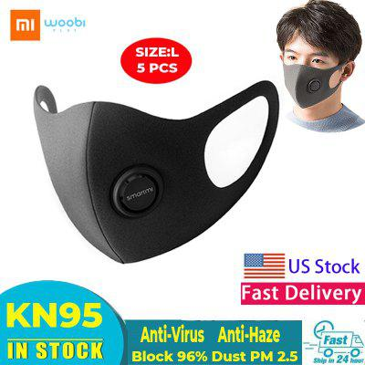 Xiaomi Smartmi Anti-haze Masks Adjustable Ear Hanging Dustproof Mask Non Medical