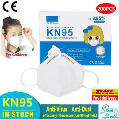 KN95 Children Mask Non-woven Dust 4 Layers Anti Pollution Kids Face Masks CE Certification