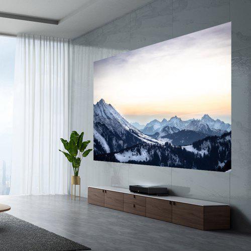 Fengmi Laser Projector TV 4K Cinema Pro 2400ANSI Lumens 150inch Big Screen Home Theater 3GB DDR4 64GB eMMC Projection TV