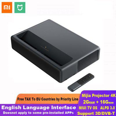 Xiaomi Mijia Laser Projection TV 4K Home Theater 200 Inch Wifi 2G RAM 16G Interfaccia inglese