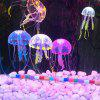 Simulation Fluorescent Aquatic Jellyfish Creative  Aquarium Landscaping Software Suction Cup