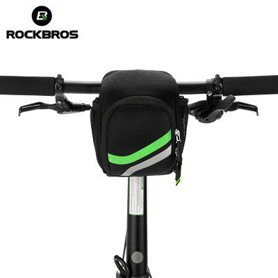 ROCKBROS 3 In 1 Bike Front Bag Cycling MTB Folding Bike Frame Handlebar Bag Cycling Tube Bicycle