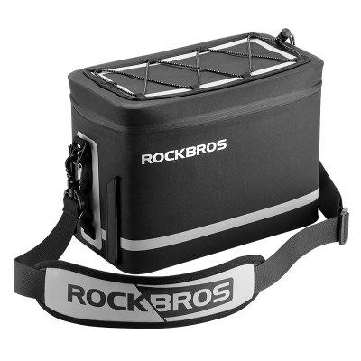 ROCKBROS Full Waterproof Bicycle Bag Camera Bag Rear Shelf Bag Compartment Shoulder Bag