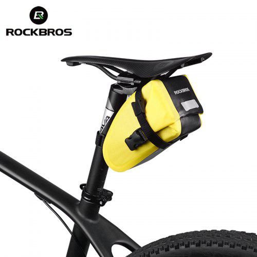 RockBros Waterproof Bicycle Cycling Tube Saddle Storage Pouch Tail Rear Seat Bag